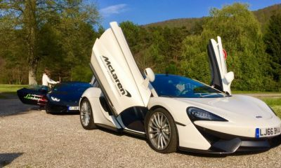 The Luxury Network Germany Luxury Sports Car Drive Event