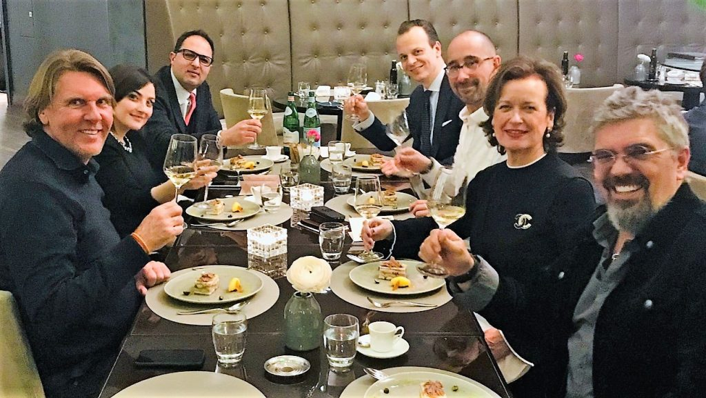 The Luxury Network Germany Exclusive Dinner With Italian Winery Drengot