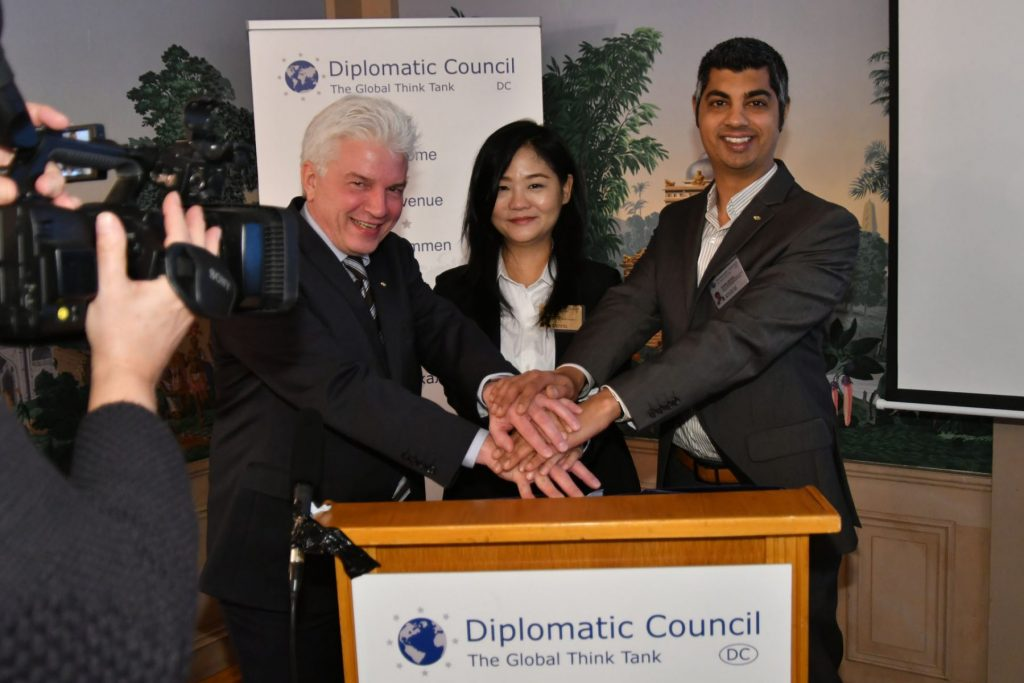 Diplomatic Council launch in Singapore