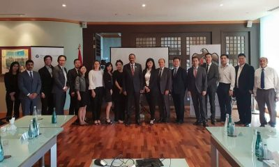 Diplomatic Council Host Brunch With UAE Ambassador in Singapore