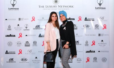 The Luxury Network Qatar United With The World Through Their Breast Cancer Awareness Event