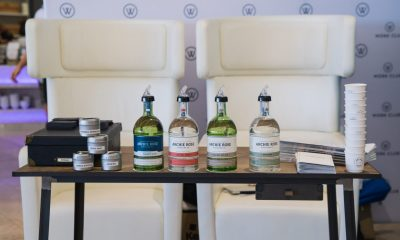 Work Club partners up with The Luxury Network's Archie Rose at a Virgin Business Class Lounge pop up