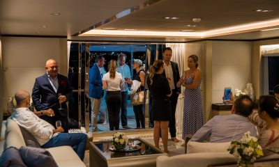 The Luxury Network & Australian Superyachts Celebrate the Launch of One World Super Yacht