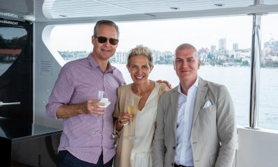 The Luxury Network Australia Member Superyacht Sahana Host a day on Sydney Harbour