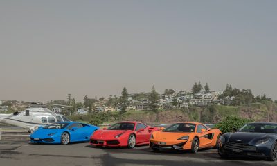 Limousines, helicopters and supercars