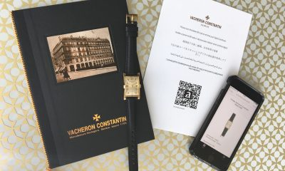 Vacheron Constantin enlists the skills of the Arianee consortium