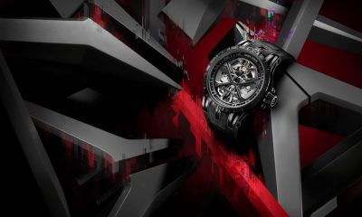Father's Day Wishlist – Roger Dubuis Excalibur Huracán in total black mode