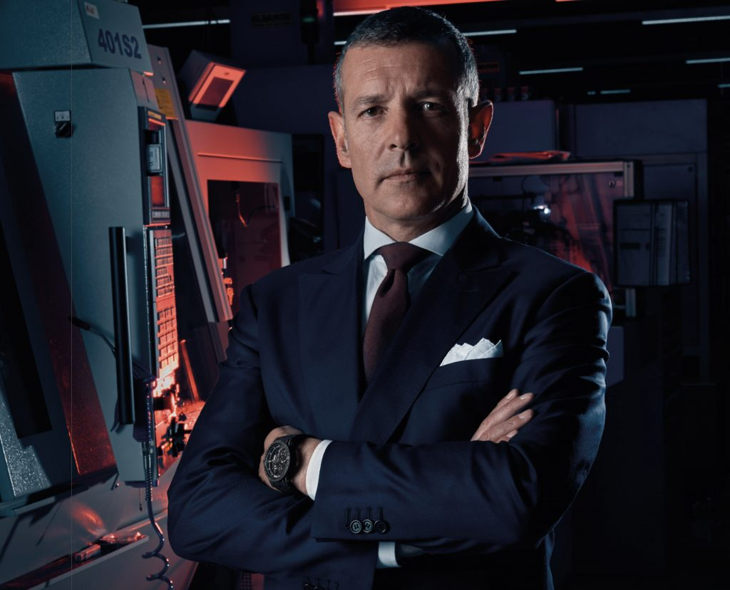 Man of the Hour: Roger Dubuis CEO, Nicola Andreatta
