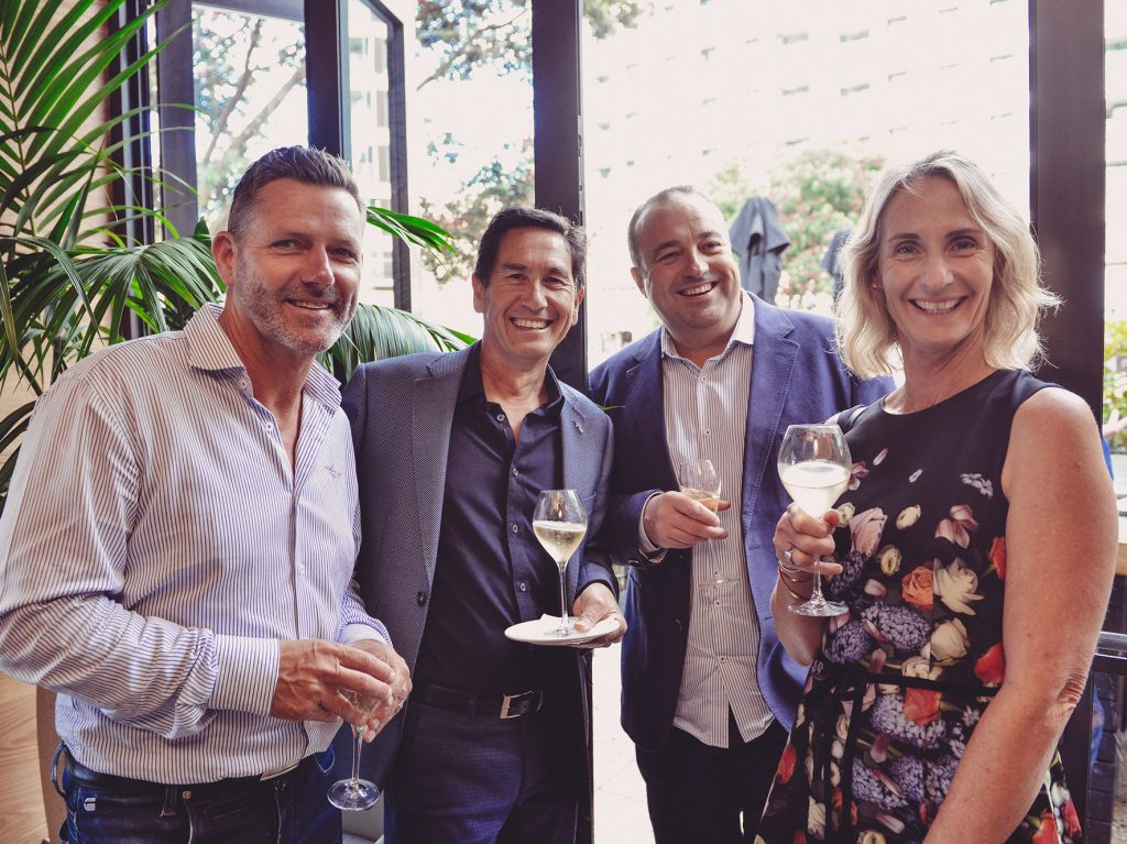 The Luxury Network New Zealand and Azimut Yachts Toasts To A Successful 2018