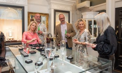 The Luxury Network New Zealand hosted a precious stones workshop and interactive dining experience