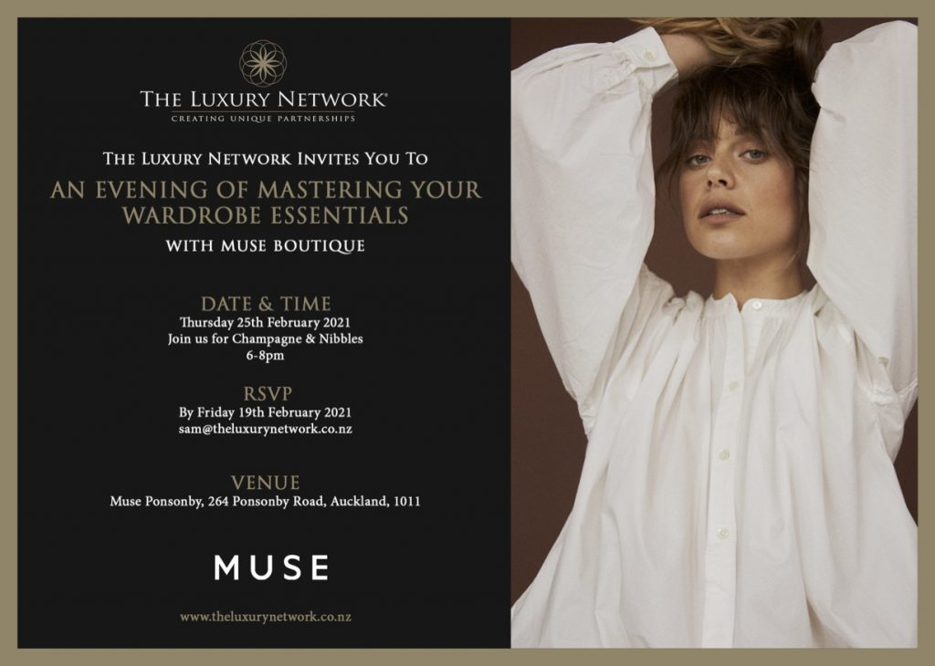 An Evening of Mastering Your Wardrobe Essentials