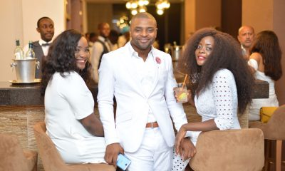 The Luxury Network Nigeria and Capital Club Lagos host All White Christmas Party
