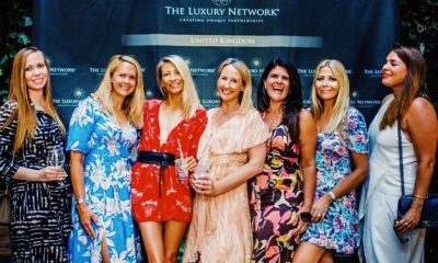 The Luxury Network UK Summer Cocktails in the Courtyard