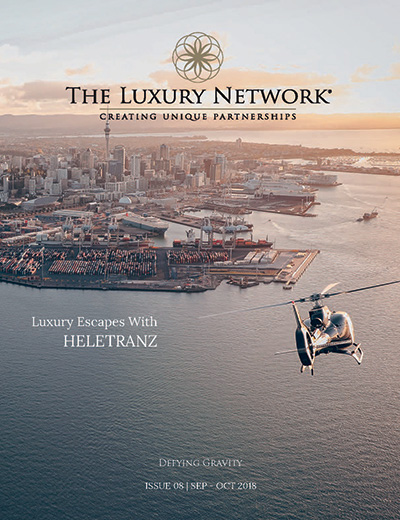 The Luxury Network Magazine Ausgabe 08